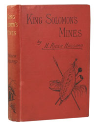 Book cover of King Solomon's Mines by H. Rider Haggard.
