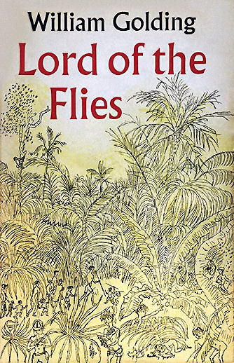 Book cover of Lord Of The Flies by William Golding.
