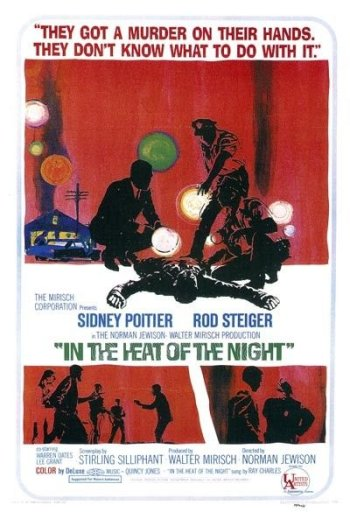 In The heat of a Night movie poster.