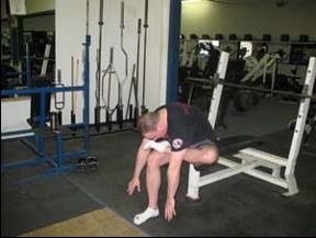piriformis stretch workout routine warm up