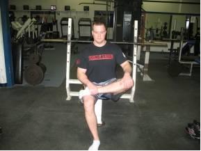 piriformis stretch workout fitness routine warm up