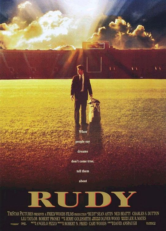 Rudy Movie cover.