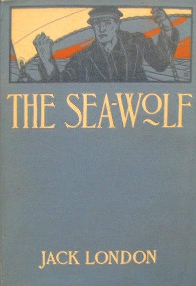 Book cover of The Sea Wolf by Jack London.