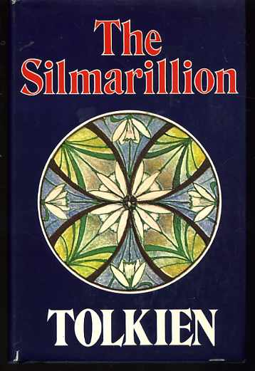 Book cover of The silmarillion by J. R. R. Tolkien.