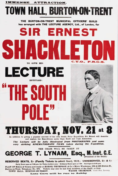 Book cover of The Endurance Expedition by Ernest Shackleton.