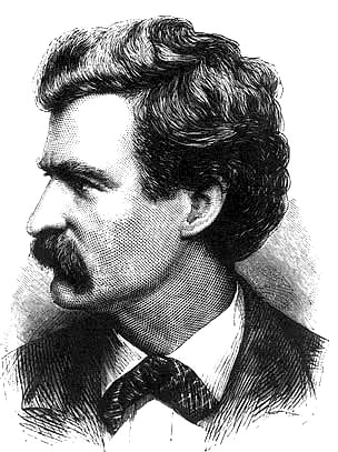 Mark Twain American writer.