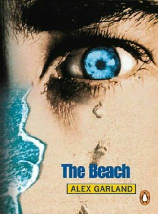 Book cover of The Beach by Alex Garland.