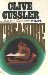 Book cover of Treasure by Clive Cussler.