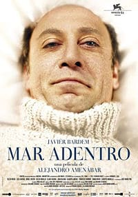 Mar Adentro (The Sea Inside) movie poster.