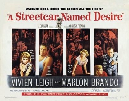 Poster - A Streetcar Named Desire_03