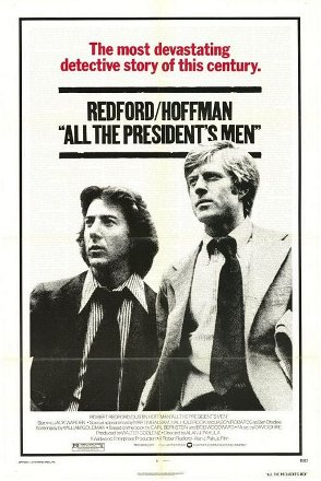 All the President's Men movie cover.