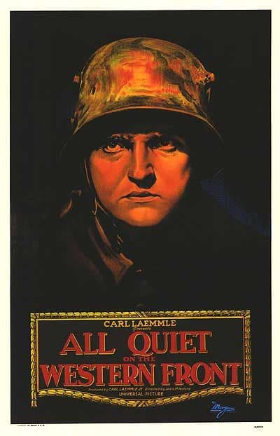 Poster of movie All Quiet on the Western Front.