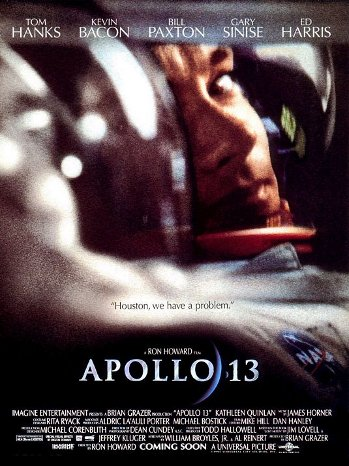 Apollo 13 movie poster.