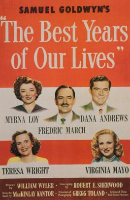 The Best Years of Our Lives movie poster.