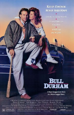 Poster of a movie Bull Durham.