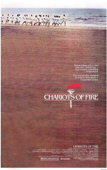 Chariots of Fire movie poster.