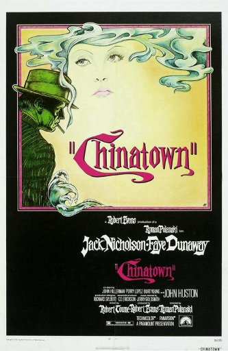 Chinatown movie poster.