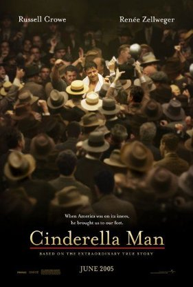 Cinderella Man movie poster.