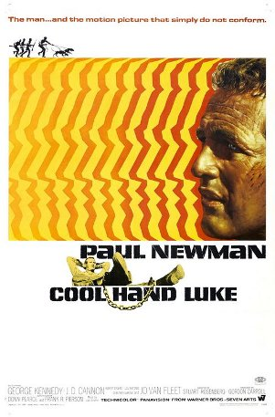 Cool Hand Luke movie cover.