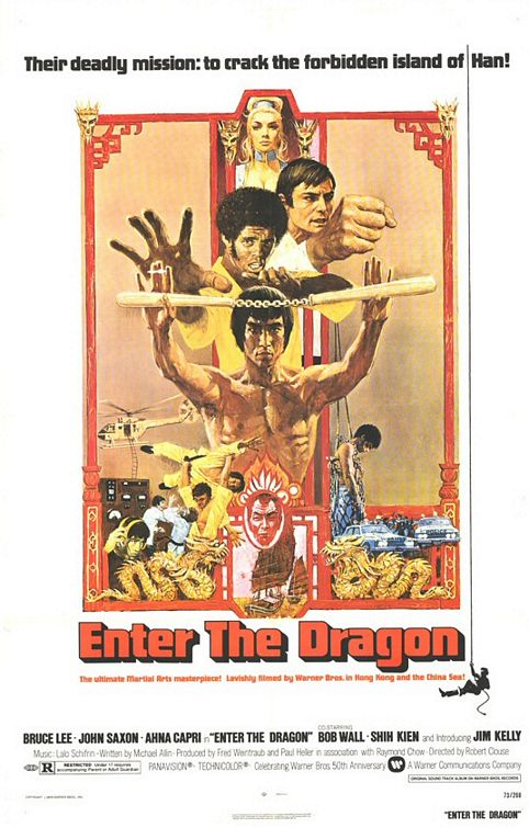 Enter the Dragon movie poster.
