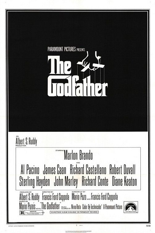 The Godfather poster.