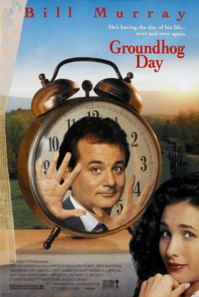 Groundhog Day poster.
