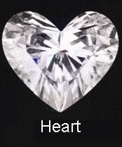 heart cut diamond choosing engagement ring