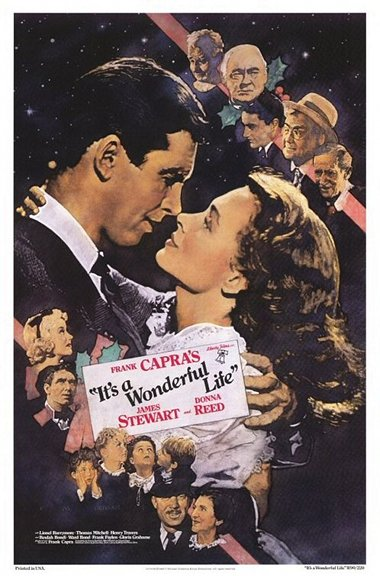 It's a Wonderful Life movie poster.