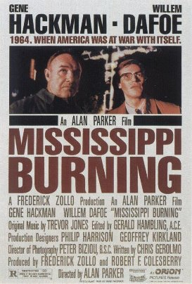 Mississippi Burning movie cover.
