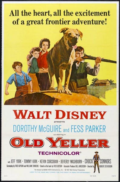 Poster of Old Yeller movie.