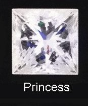 princess square cut diamond choosing engagement ring