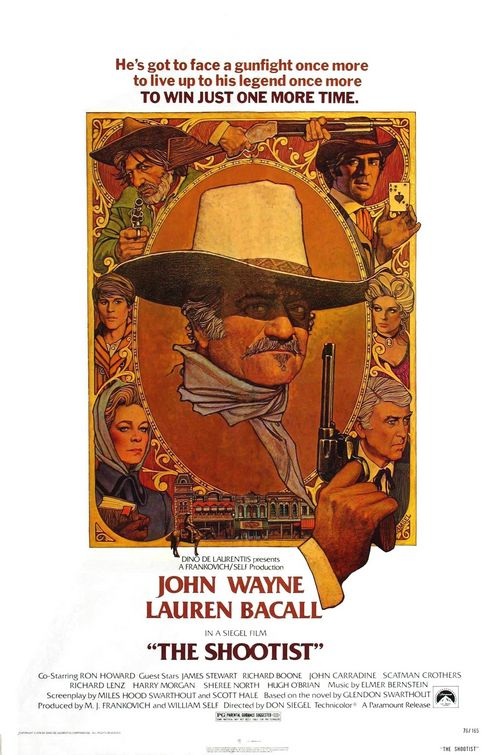 Poster of a movie The Shootist.