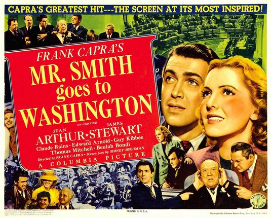 Mr. Smith Goes to Washington movie poster.