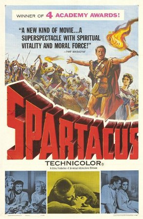 Spartacus movie cover.