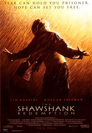 The Shawshank Redemption movie cover.