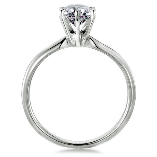 tiffany setting diamond engagement ring classic
