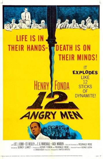 12 Angry Men movie poster.