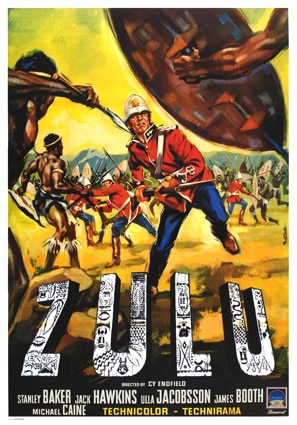 Zulu movie cover.