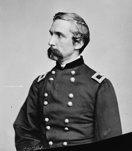 Joshua Chamberlain gettysburg soldier famous mustache