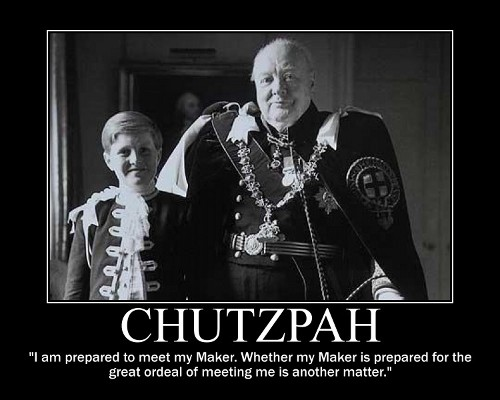 winston churchill meet my maker quote motivational poster