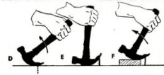 Illustration of pulling nail out with claw hammer.