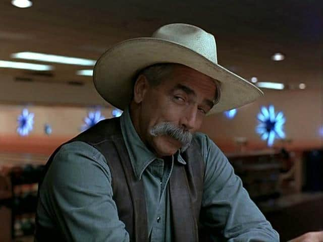 sam elliot cowboy hat famous mustache facial hair