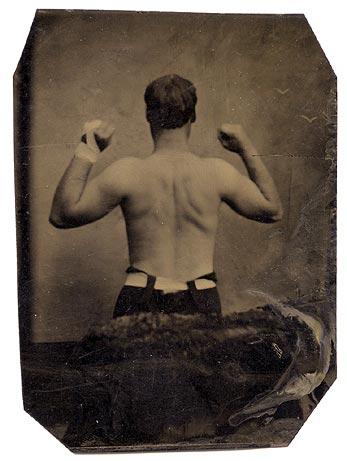 vintage bodybuilder back view muscles bacne