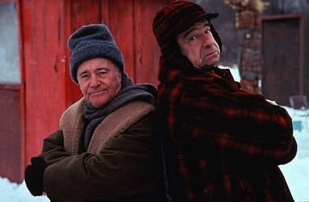 Jack Lemmon and Walter Matthau in Grumpy Old Man.
