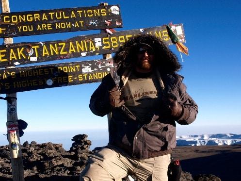 summit peak tanzania mountain climbing adventure philanthropy