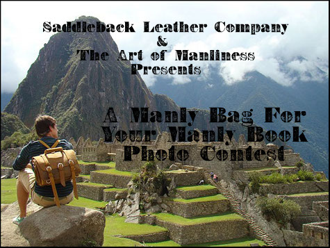14 Cody Burns' Machu Picchu leather briefcase