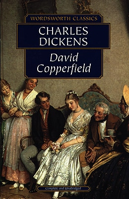 "Book cover of ""David Copperfield"" by Charles Dickens."
