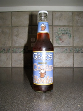 Gray's gourmet cream soda.
