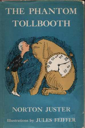 "Book cover of ""The Phantom Tollbooth"" by Norton Juster."