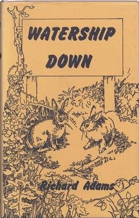 "Book cover of ""Watership Down"" by Richard Adams."